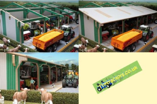 Extension for Euro Tractor & Mach. Shed